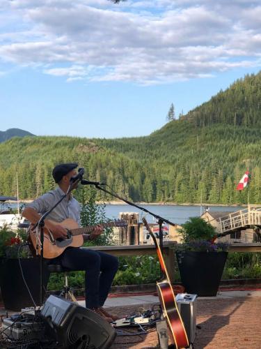 Luke Blu Guthrie Live on the Patio